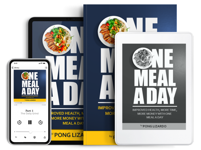 Pong Lizardo - One Meal a Day Book print and digital